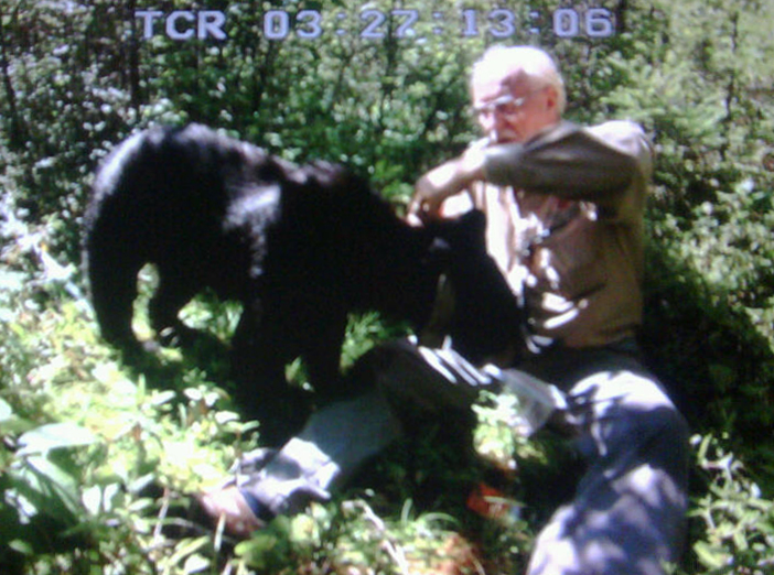 Lynn and Jo bear - July 24, 2010
