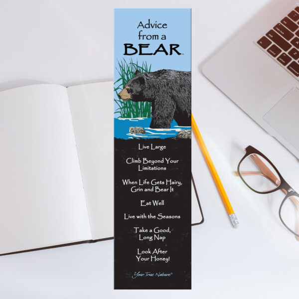 Bookmark Advice from a Bear