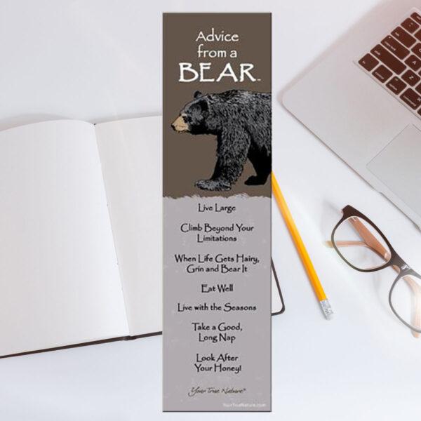 Bookmark Advice from a Bear