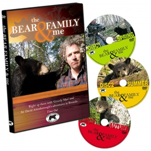 Bear Family & Me 3 DVD set