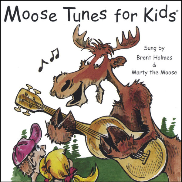 Moose Tunes for Kids – CD