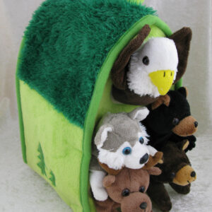Forest Animal House 12″
