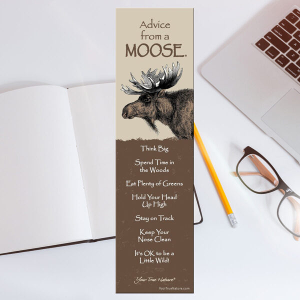 Bookmark: Advice From a Moose
