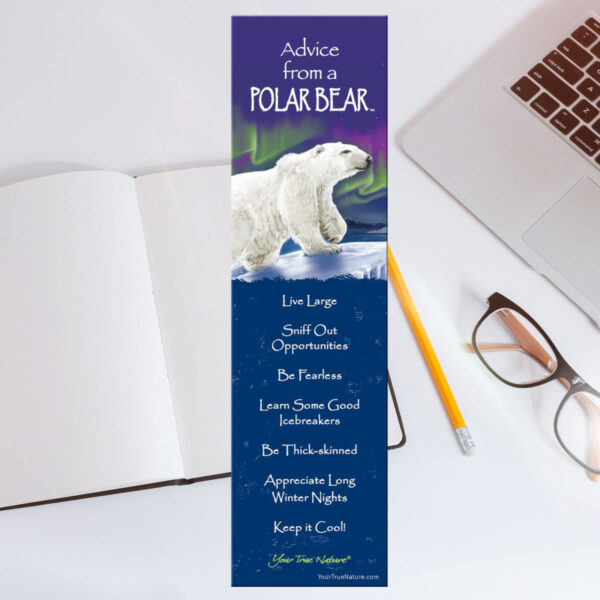 Bookmark: Advice From a Polar Bear
