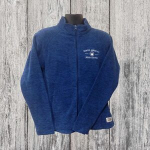 Ladies Fleece Full Zip Teal
