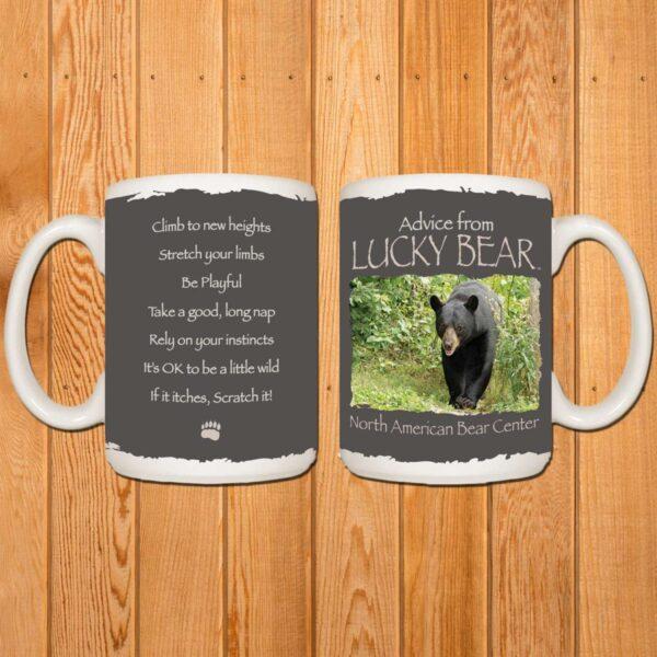 Advice from Lucky Mug