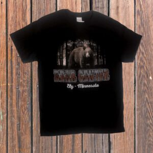 Black Bear in Woods Tshirt
