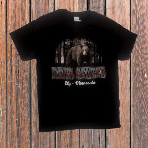 Black Bear in Woods T-shirt