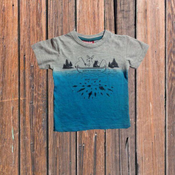 Bear Moose Fishing T-shirt (Youth)