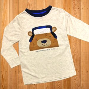 Bear with Plaid Longsleeve