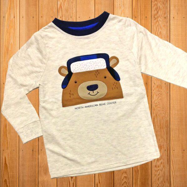 Bear with Plaid Long Sleeve