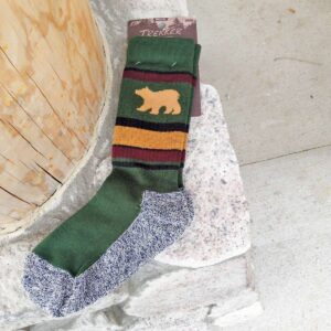 Sock: Bear Wild Stripes