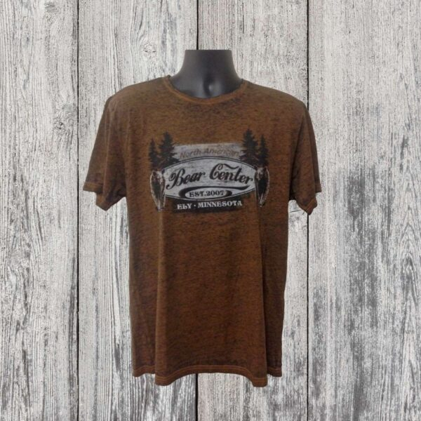 Burnout Bear with Trees T-shirt