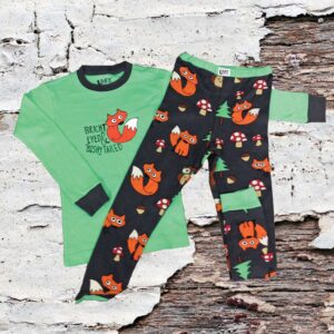 Bright Eyed Bushy Tail Pajamas (Youth)