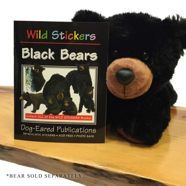 Wild Stickers – Black Bears Book