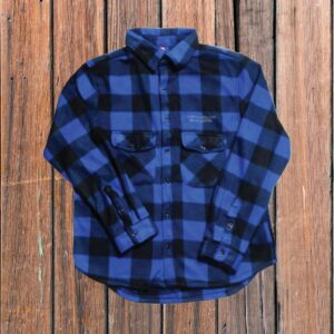 Blue Plaid Shirt (Adult)