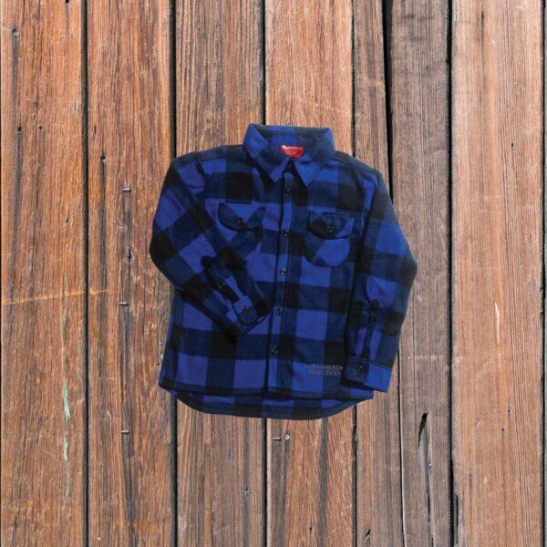 Plaid Shirt Blue (Toddler)