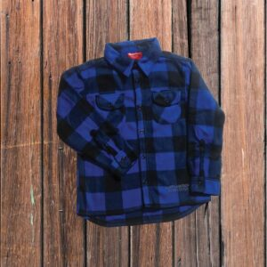 Plaid Shirt Blue (Youth)