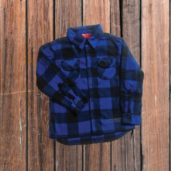 Plaid Shirt Blue (Youth)
