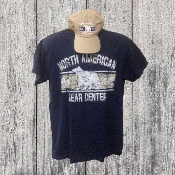 Hat/Tee Combo Navy and Khaki (Adult)