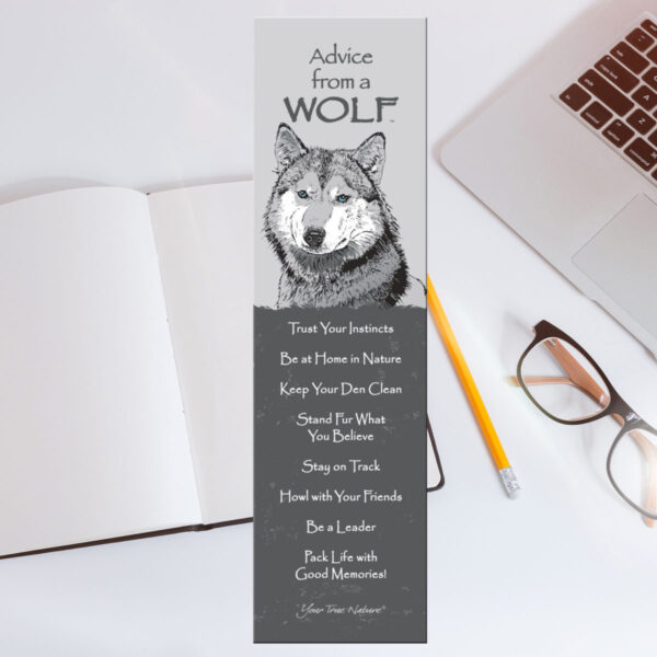 Bookmark: Advice From a Wolf