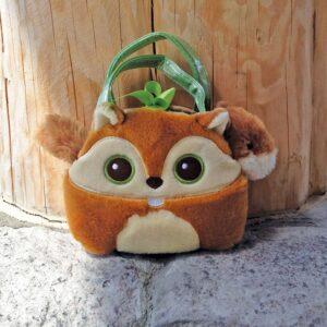 Bright Eye Squirrel Purse