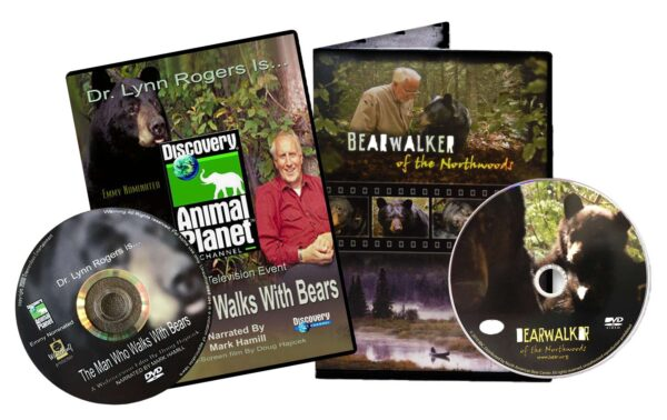 DVD: Combo Pack Bearwalker of the Northwoods & Man Who Walks With Bears