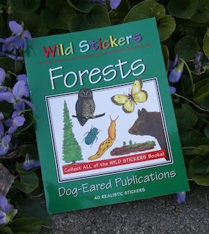 Wild Stickers – Forest Animals Book