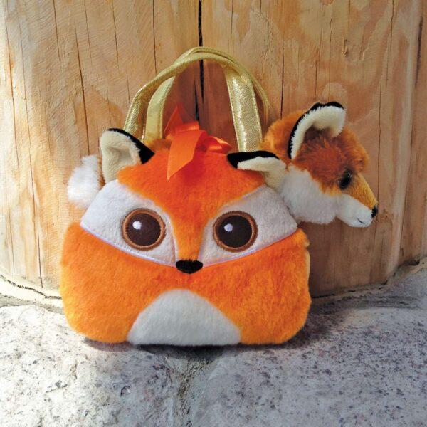 Bright Eye Fox Purse