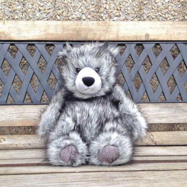 Hicks Bear 15″ Gray