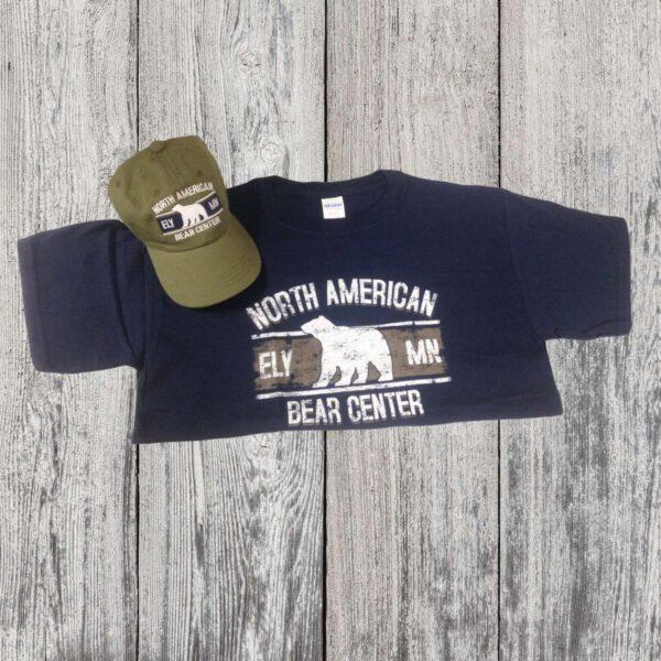 Hat/Tee Combo Navy & Green (Youth)