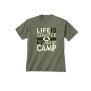 Life Is Simple Camp Tshirt