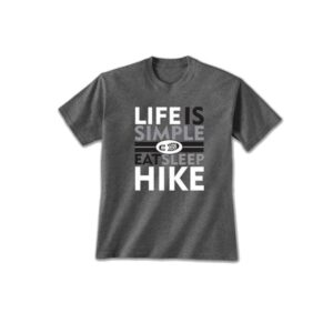 Life is Simple Hike Tshirt