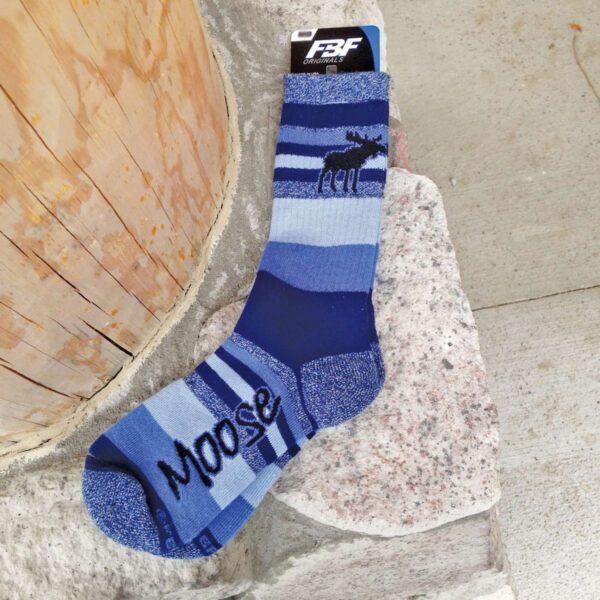 Sock: Moonlight Moose