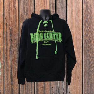 Laced Neon Green Black Hoody