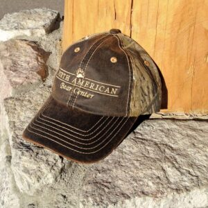 Oil Stained Camo Cap