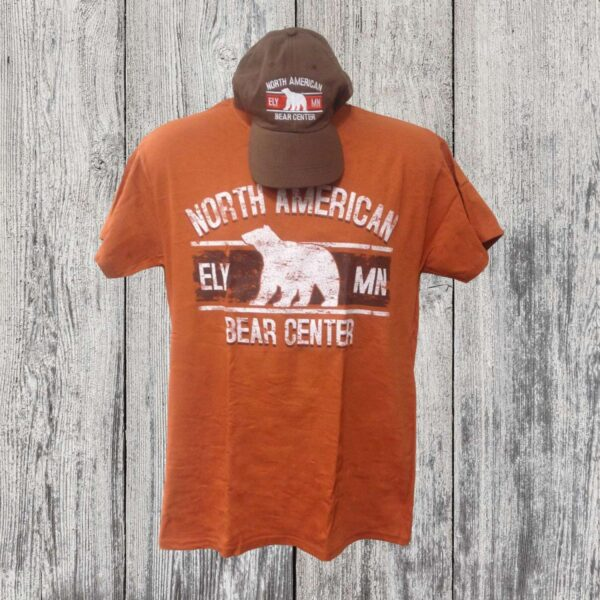 Hat/Tee Combo Orange and Brown(Adult)