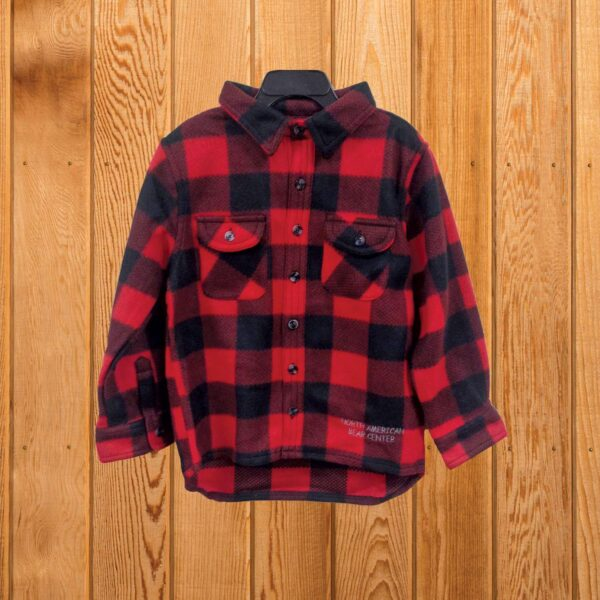 Youth Plaid Shirt Red