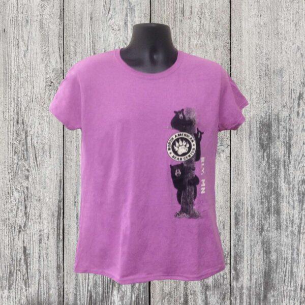 Ladies Cub on Tree T-shirt