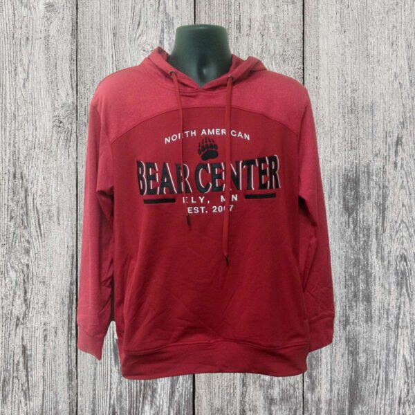 Red Performance Style Hoody