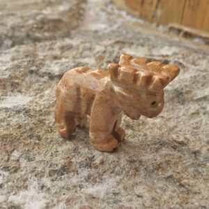 Soapstone Moose