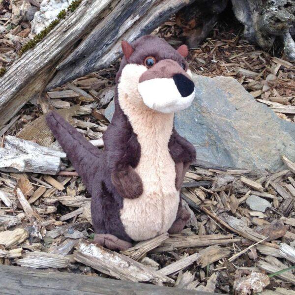 Standing River Otter