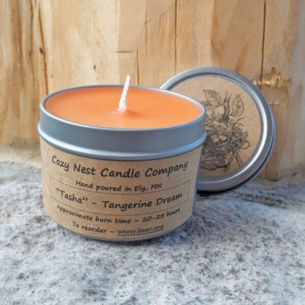 Tasha Tangerine Tin Candle