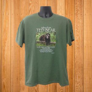 Advice From Ted Tshirt Forest Green