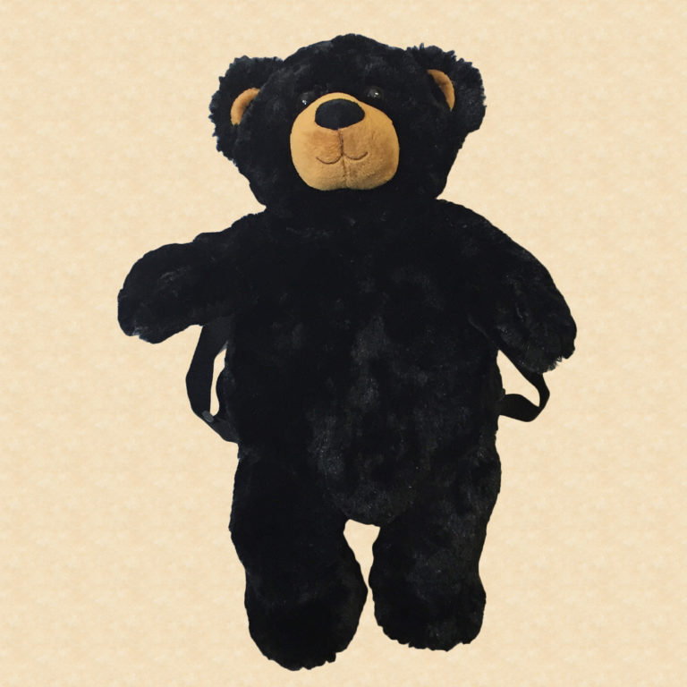 19″ Black Bear Backpack
