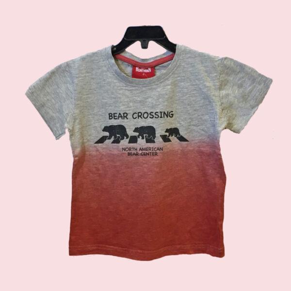 Bear Crossing Kids T-Shirt