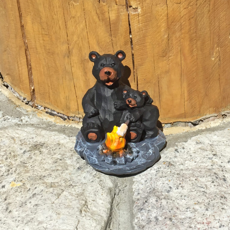 Bear with Marshmallow Figurine