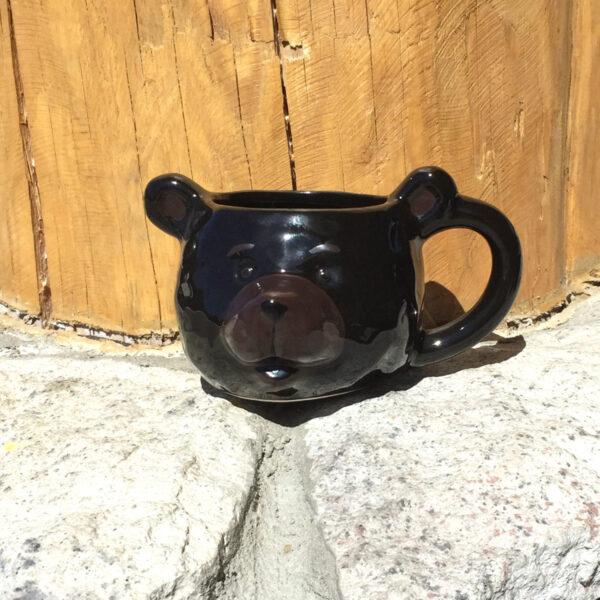 3-D Bear Mug