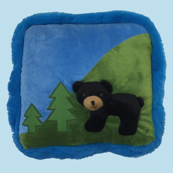 12″ Black Bear Pillow