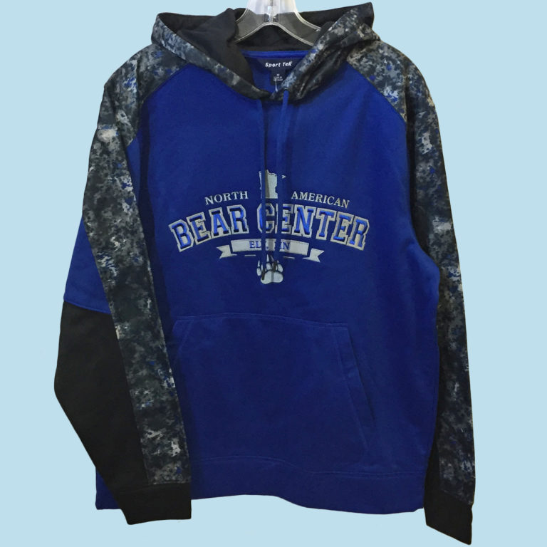 Royal Blue Camo Hoody